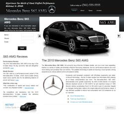 Merceds Benz S65 AMG