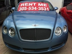 Los Angeles exotic car rental