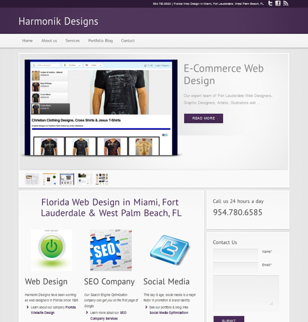 Harmonik Web Design Florida